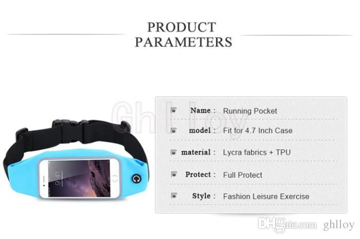 5.5 / 5.0 дюймов универсальный водонепроницаемый бег ходячий спортивный карман сумка для iPhone 6 6S / 6 Plus / 6S Plus 5S 5 5G 4S 4 для HTC для Xiaom