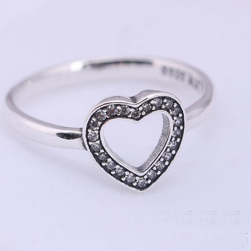 heart pandora ring