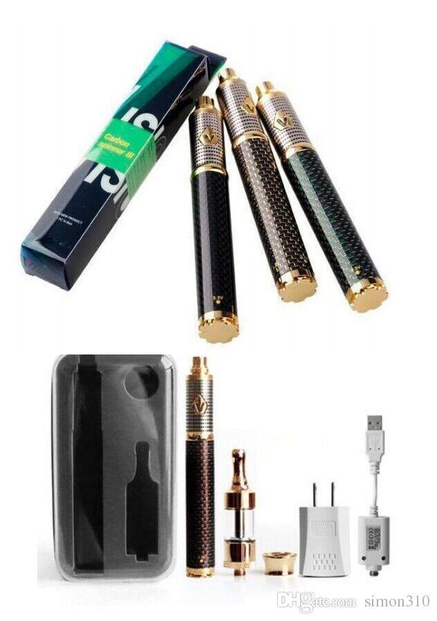 vision spinner iii kit box Mod kit variable Vision Spinner 3 carbon fiber battery 1650mAh protank 2 VS topbox mini starter kit