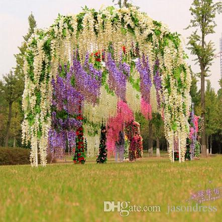 Wedding decoration simulation flower artificial flower vine flower see larger image junglespirit Image collections
