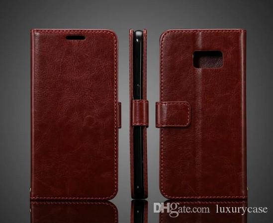 삼성 S7 케이스 플립 커버 지갑에 대한 옵션 상업 삼성 갤럭시 S7 G930 G9300 들어 럭셔리 원래 다채로운 슬림 가죽 케이스