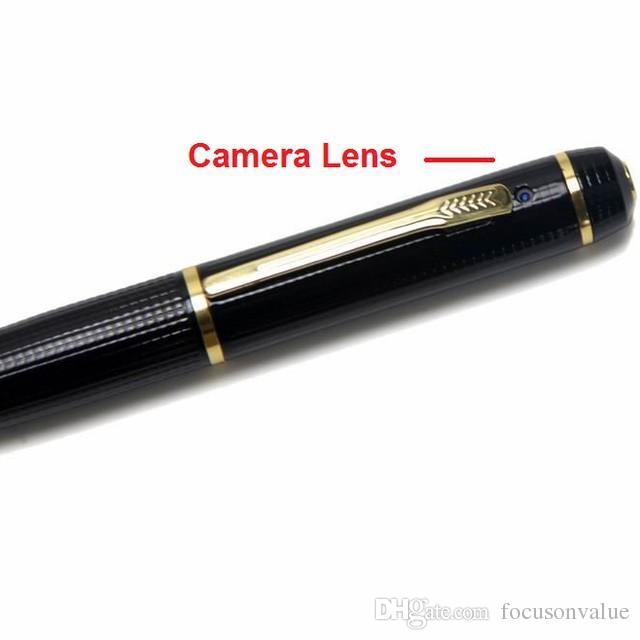 1080P Mini pen camera Full HD Ball Point pen camera mini camcorder corn pen DVR Pinhole camera audio video recorder