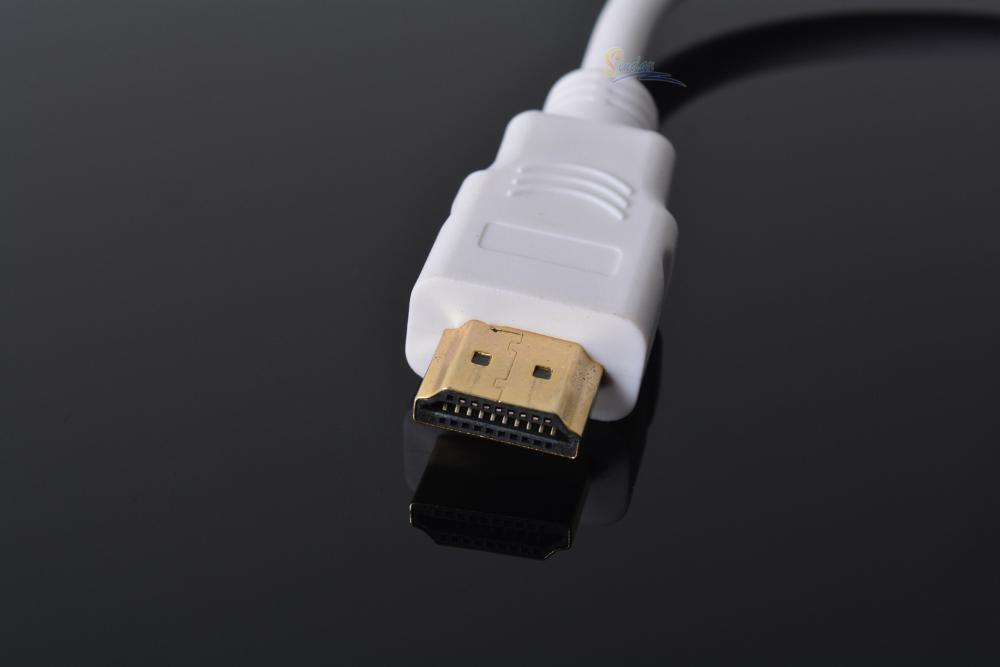 Yeni Yüksek Kalite HDMI Erkek VGA Dişi Adaptör HDMI VGA Kablosu Dönüştürücü kadar HD 1080 P Laptop Monitörler için HDTV DVD PC