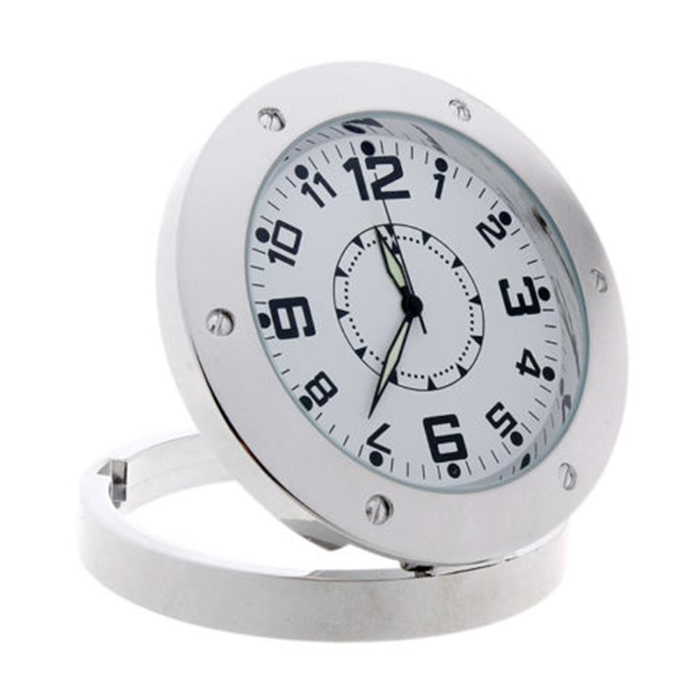 Hot selling new mini hd hidden clock camera silver pinhole see larger image amipublicfo Images