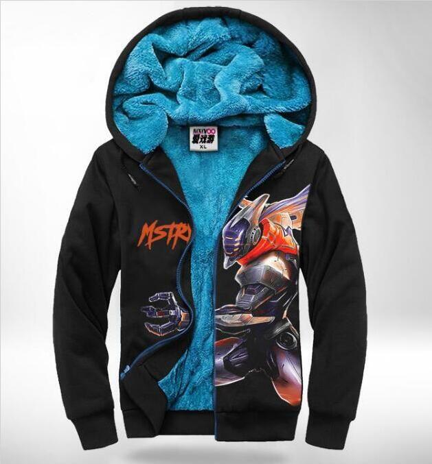 Großhandel League Von Kleidung Wangxiao58732 Anime Pullover 49 Heroes Lol Samt Verdickt Jacke Sowie Warme Hoodies Of Kleid Spiel f7gvIYb6y