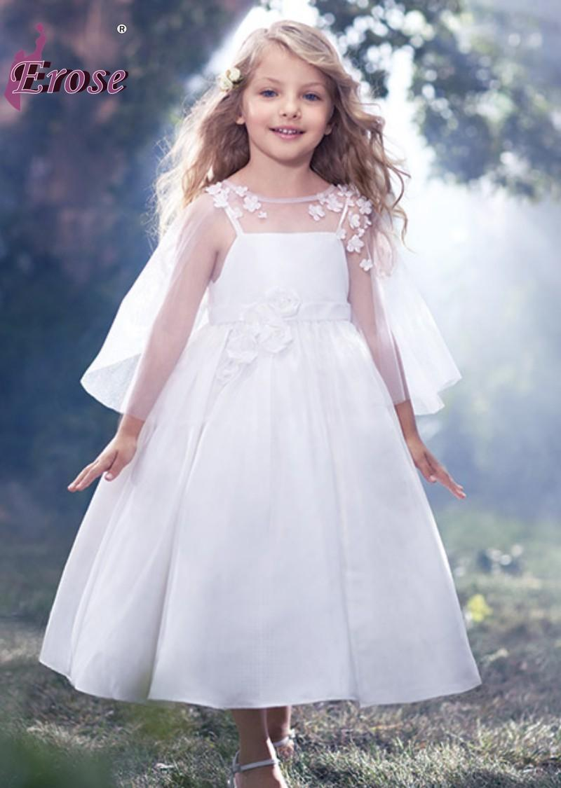 2017 lovely angel a line appliqued taffeta the most beautiful 2017 lovely angel a line appliqued taffeta the most beautiful flower girl dresses with wrap for sale little girls bridesmaid dresses little girls white ombrellifo Gallery
