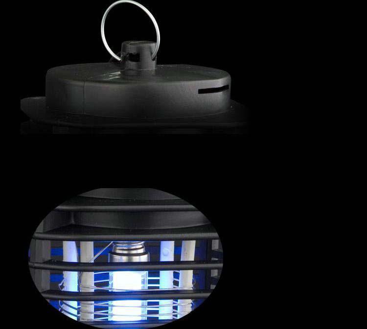 110 V 220 V Eléctrica Mosquito Bug Zapper Killer LED Lantern Fly Catcher Flying Insect Patio lámparas de Camping al aire libre