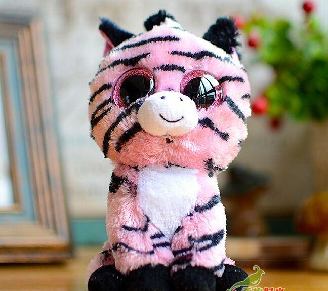 Lovely Pink Zebra 15cm Figures Of Objects Plush Toys For Baby Gifts