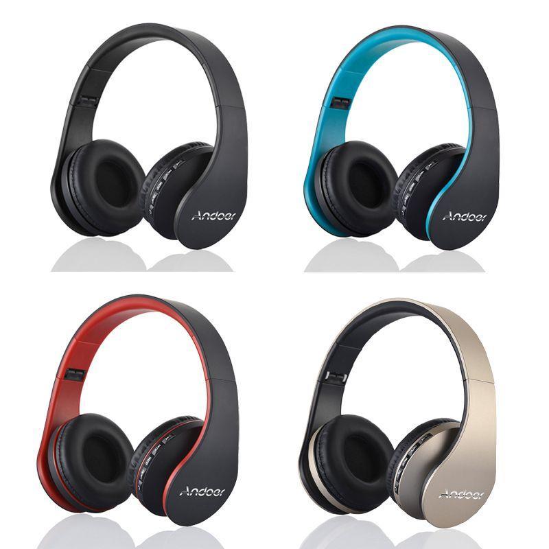 عالية الجودة Andoer LH-811 الرقمية 4 في 1 ستيريو بلوتوث 3.0 + EDR سماعات لاسلكية سماعة الموسيقى سماعة مع Micphone