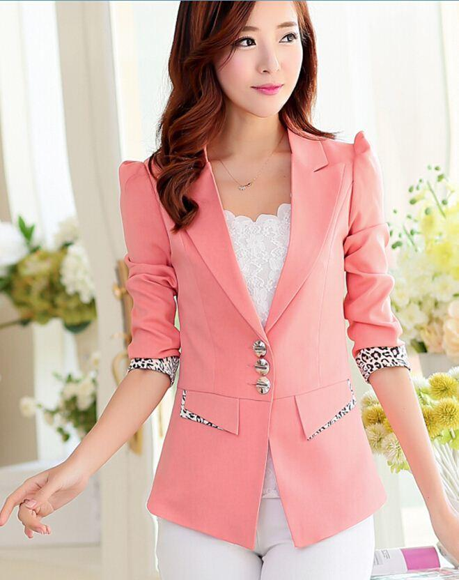 Online Cheap Shrug Suit Jacket Women Blazers M Xxl Casual Jackets ...