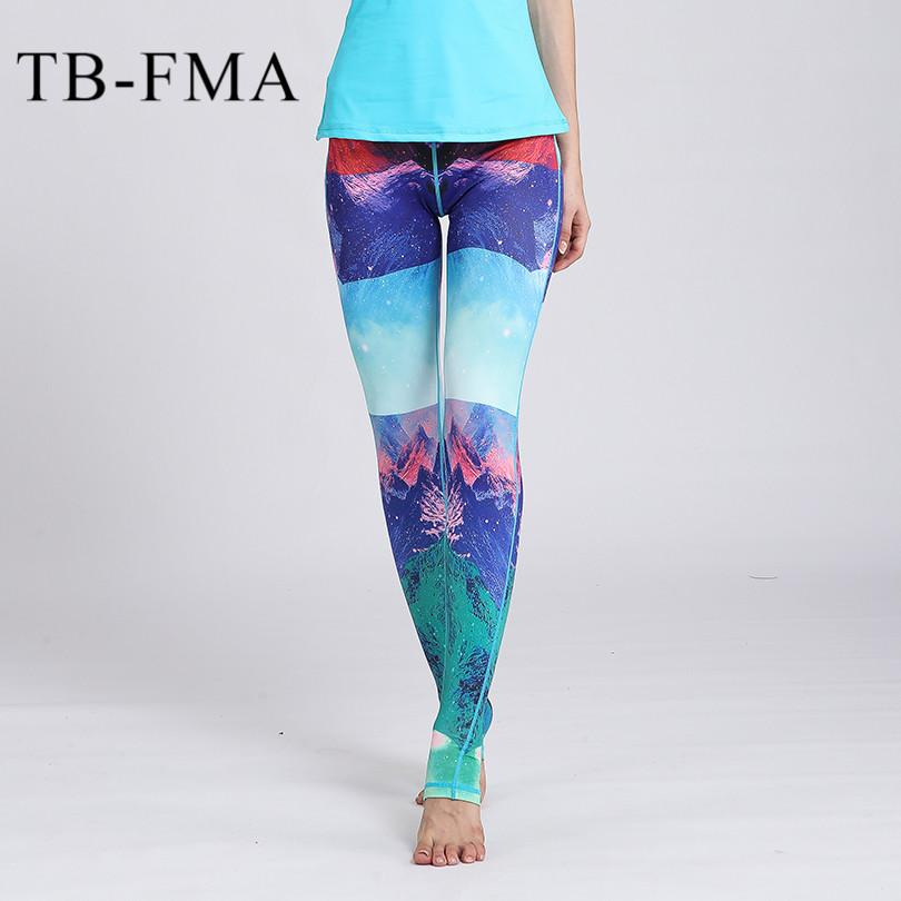 1bed8198151656 2019 Yoga Leggings Sports Pants Yoga Women Sports Clothing Trousers Fitness  Yoga Compression Sport Tights Gym Clothes From Guankem2, $24.35 | DHgate.Com