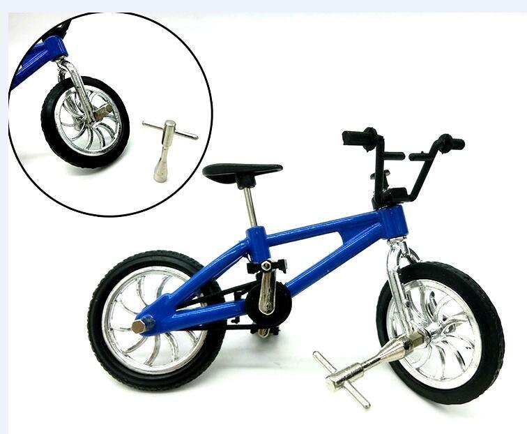 DHL Alloy Finger Bikes Model Toys Desktop Toys Mini Finger Bicycle for Kids Toys Christmas Car 2017