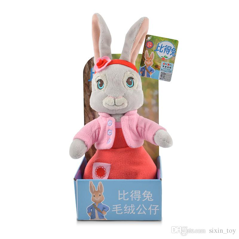Soft Cute Plush Animals 30cm Peter Rabbit Dolls Toys To Appease Infants Perfect Babys companions Newborn Gift