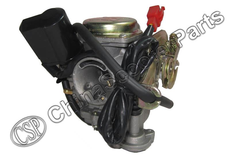 Wholesale- 19MM Carb PD19 GY6 50CC 60CC 80CC 1P39QMB Jonway Jmstar Baotian  Roketa Tank Vita Jcl Taotao Scooter Carburetor Parts