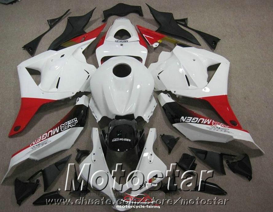 ¡Nuevo! carenados de plástico para Honda Injection Molding CBR600RR 09-11 carenado kit CBR 600 RR 2009 2010 2011 rojo negro blanco motobike YR63