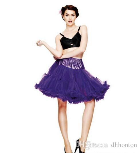 Tanz Kostüm Ballkleid Tutububble Rock Kleider Frauen Mädchen Adult Tutu Ballett Dancewea Bubble Röcke Pettiskirt HT70