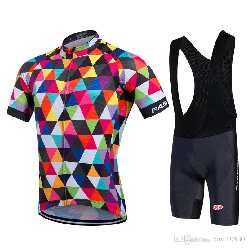 76c754fb3c8 Cycling Jersey Team Fastcute Bicycle Racing Cycle Jerseys Maillot ...