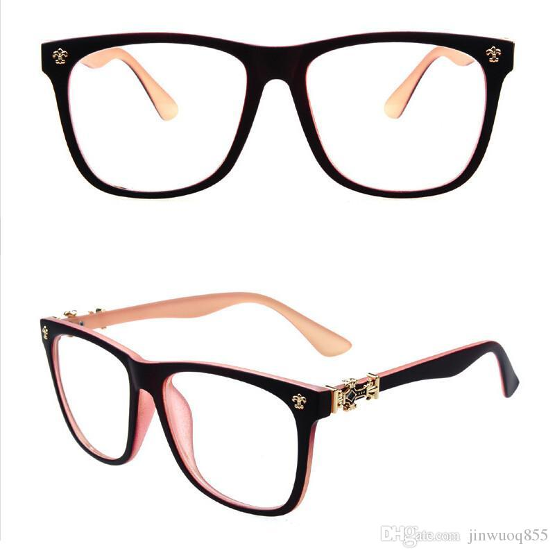 Vintage Women Eyeglasses Frame Branded Eyeglasses Frames Metal Eye ...