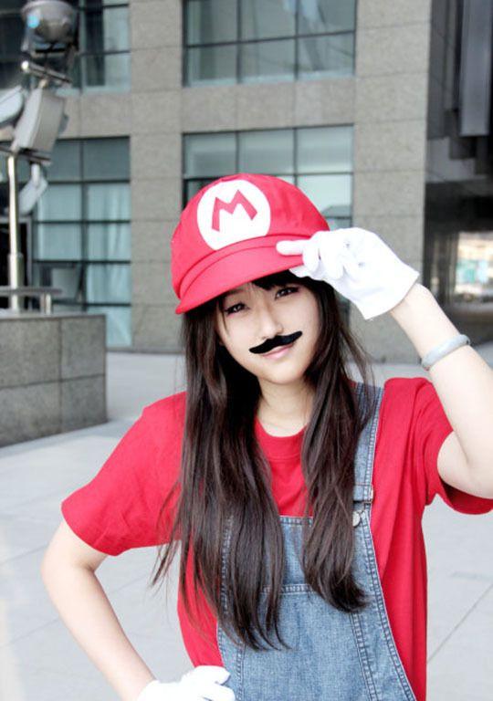 6868d732fe2 Cap NEW Super Mario Bros Anime Hat Mary Octagonal Cap   Sunbonnet ...