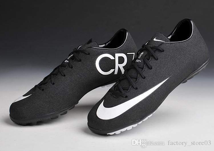 2018 Nike Mercurial Victory V Cr Tf Black White Hyper Turq Nike Mens Soccer  Boots Footwear Mens Soccer Shoes Footwear Shoe From Factorystore03