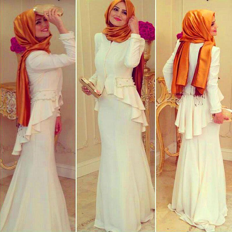 157188c2628 Arabic Saudi Arabia Turkish Islamic Clothing Women Formal Gowns Prayer  Kaftans Dresses Hijab Long Sleeve Muslim Evening Dress Evening Gown Plus  Size Formal ...