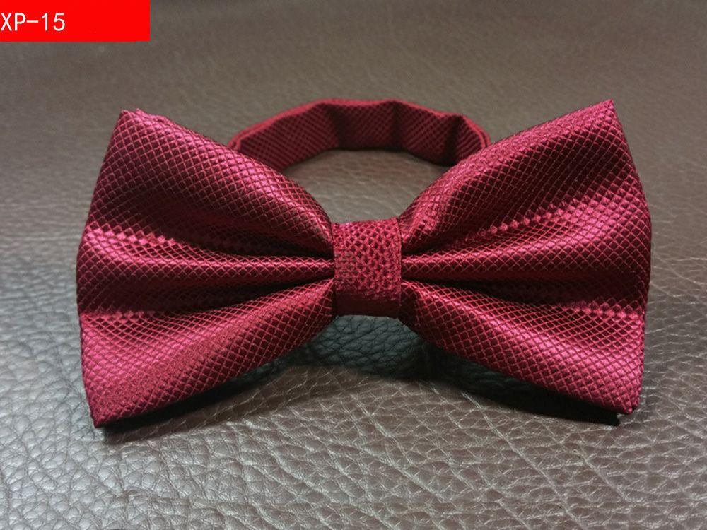 fashion Wedding Bow tie Party Men Women Solid Color Cravat Polyester Bowtie Male Dress Shirt gift