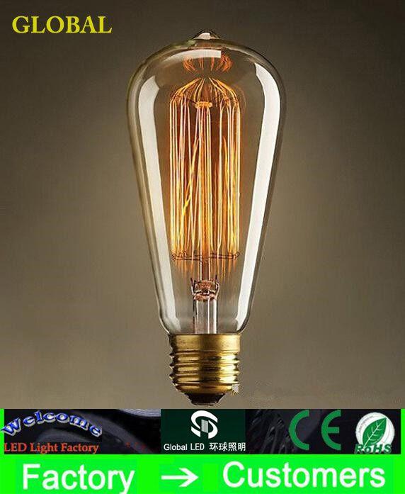 Grosshandel Mode Gluhlampen Vintage Gluhbirne Edison Birne Leuchte