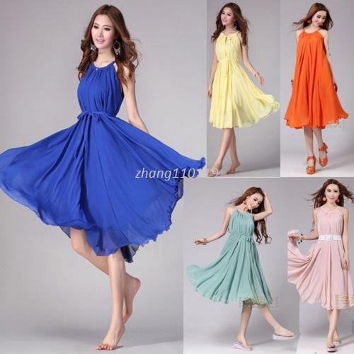 2016 New Sexy Women Summer Boho Style Formal Party Dress Casual ... 75c4027ce
