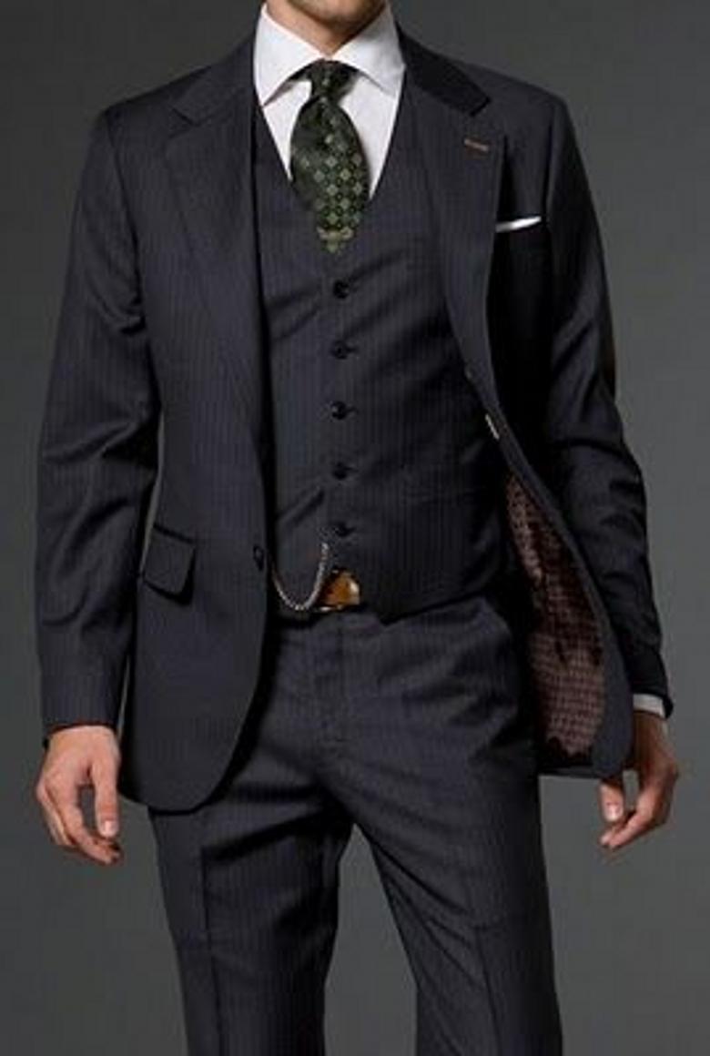 2015 Fashion Jacket Pants Vest Tuxedos Suits Lapel Two Button ...