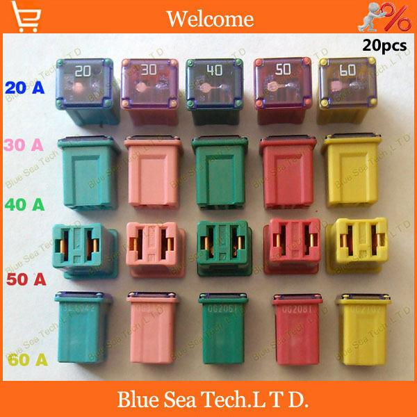 5model original rectangle small type auto fuse 20a to 60a japan car rh dhgate com auto fuses for 2004 jeep grand cherokee auto fuses ebay