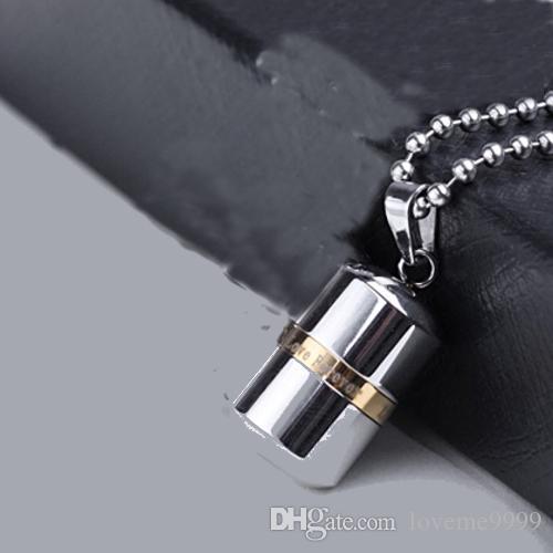 Мемориал любовь навсегда таблетки ювелирные изделия высокое качество открываемые из нержавеющей стали таблетки капсулы кулон кремации золы урны медальон ожерелье урны ювелирные изделия