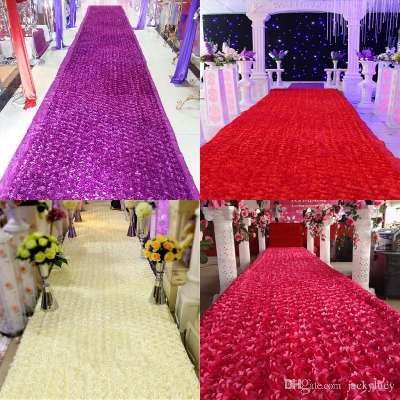 New arrival luxury wedding centerpieces favors 3d rose petal carpet new arrival luxury wedding centerpieces favors 3d rose petal carpet aisle runner for wedding party decoration supplies available cheap fall wedding junglespirit Image collections