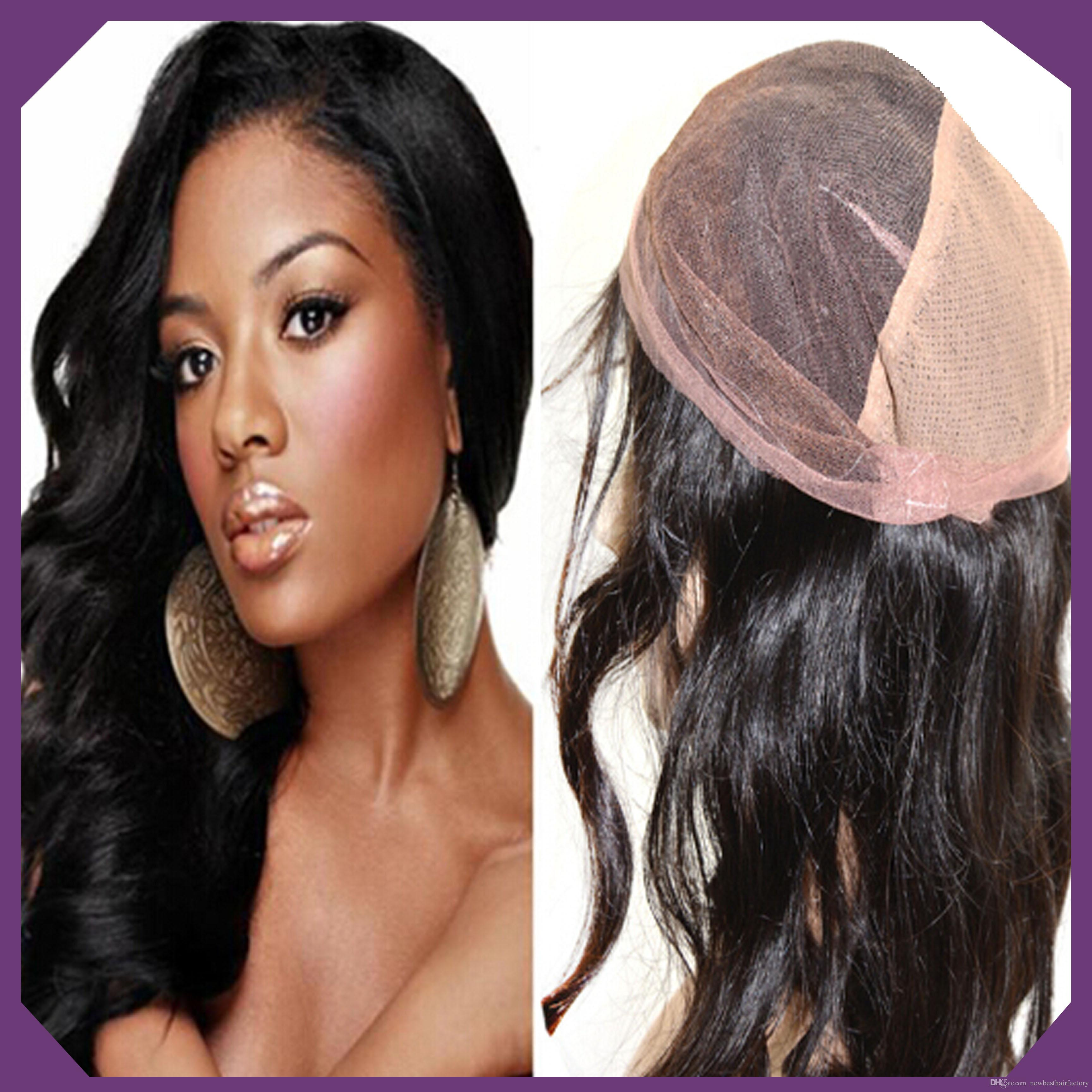 Best Quality 6a Virgin Brazilian Indian Human Hair Lace Front