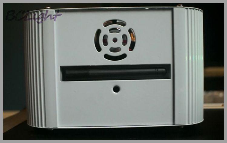 1 fly case / RGBAW+UV 6x18W LED lithium battery powered bluetooth-DMX wireless wash uplights/wireless dmx led lights