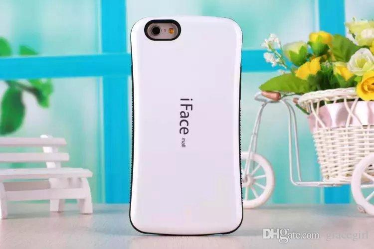 IFACE Case For Iphone X XS MAX XR 8 IphoneX 7 6S 6 Plus 5 5G 5S Korea Soap Protective Hybrid Soft Hard ShockProof Cell Phone Skin Cover