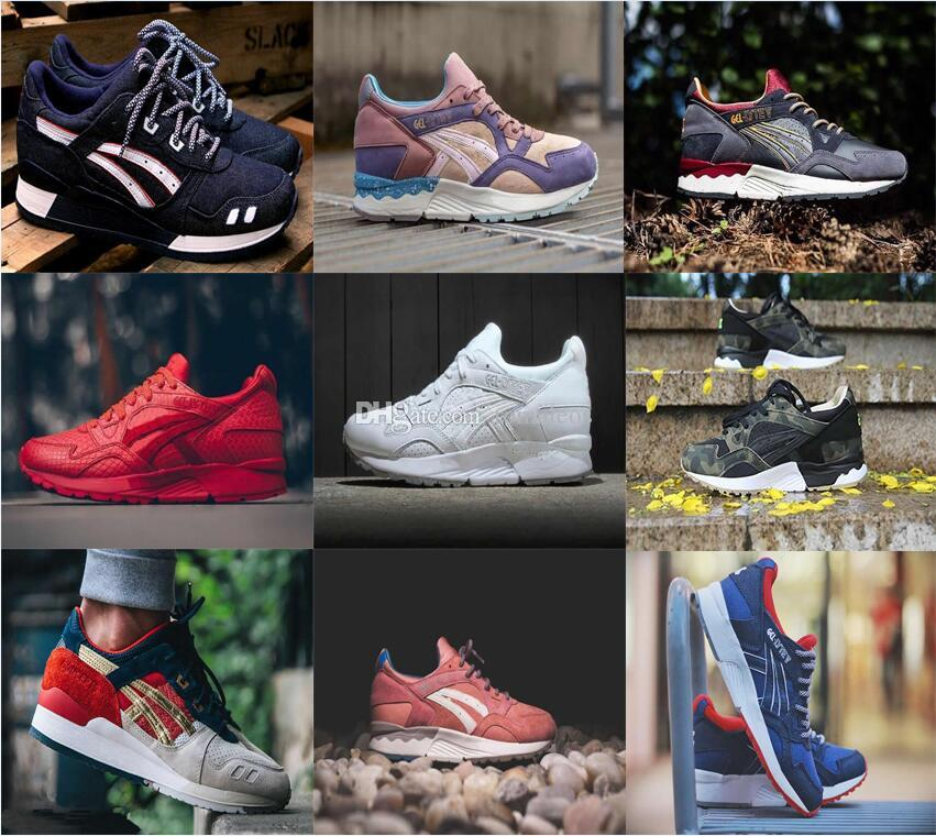 2017 hot sale top quality running shoes Gel Lyte iii V for men and women sports shoes saga .size Eur 36-44 buy cheap nicekicks 2BqKRe6lo