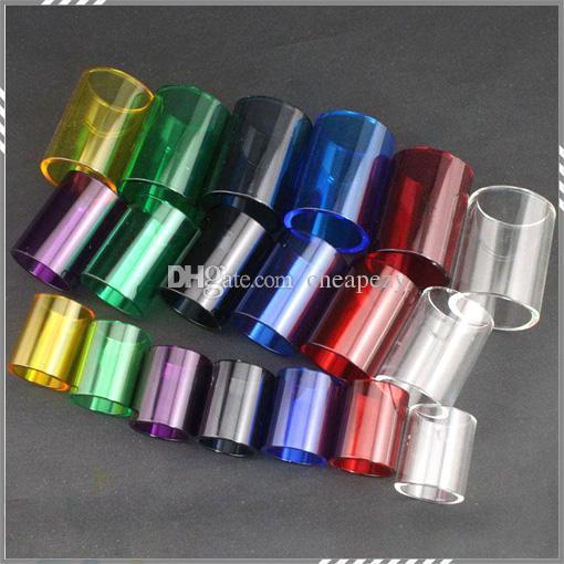 Subtank di ricambio di alta qualità Tubo di vetro Pyrex kanger Subtank Atomizzatore Mini tubo di vetro Subtank Nano Glass TUBO DHL Free