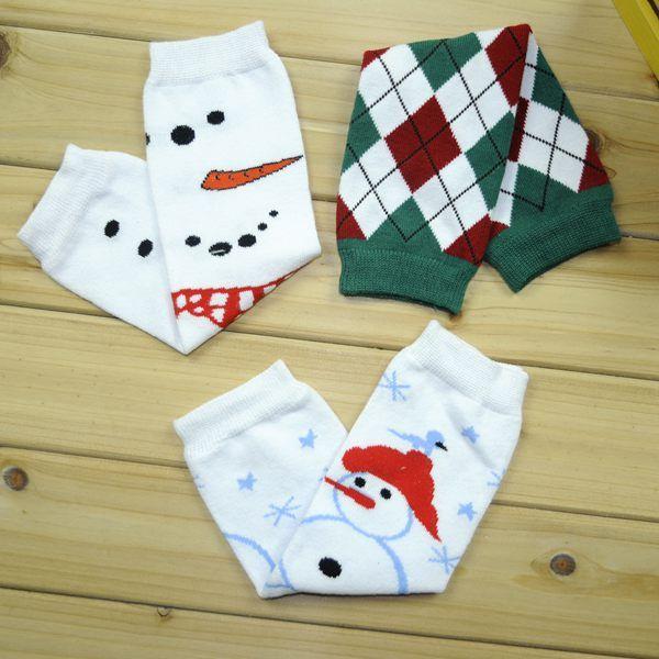 Fedex UPS Free Ship 2016 New Halloween Baby Leg Warmer Christmas Baby Santa Leg Warmers Children reindeer legwarmers Boys Girls Chevron Sock