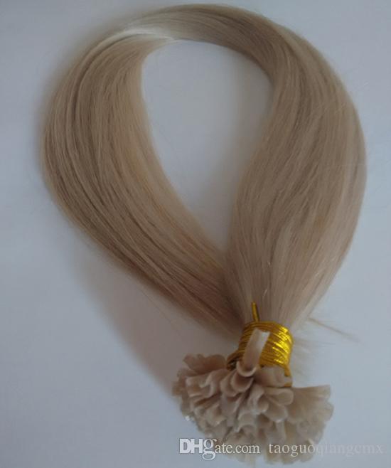 Top Quality 100 Brazilian Human Hair Extensions U Tip Factory 7a