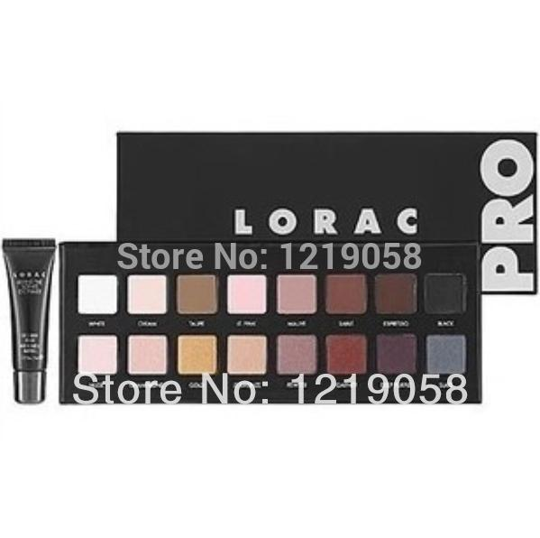 New Makeup LORAC PRO Palette 16 Colors Eyeshadow With Eye Primer Luminous Eye shadow Palette Band Makeup cosmetics