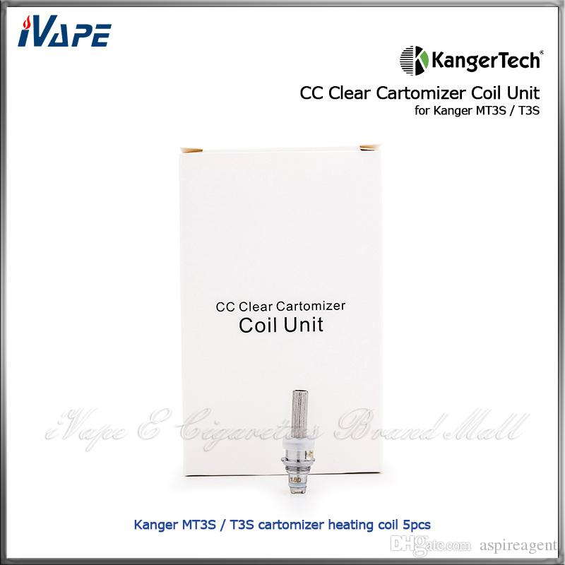 T3S MT3S Kanger MT3S T3Sアトマイザーの交換用加熱コイルのための熱い販売元Kangertech CC Clear Cartomizerコイルユニット