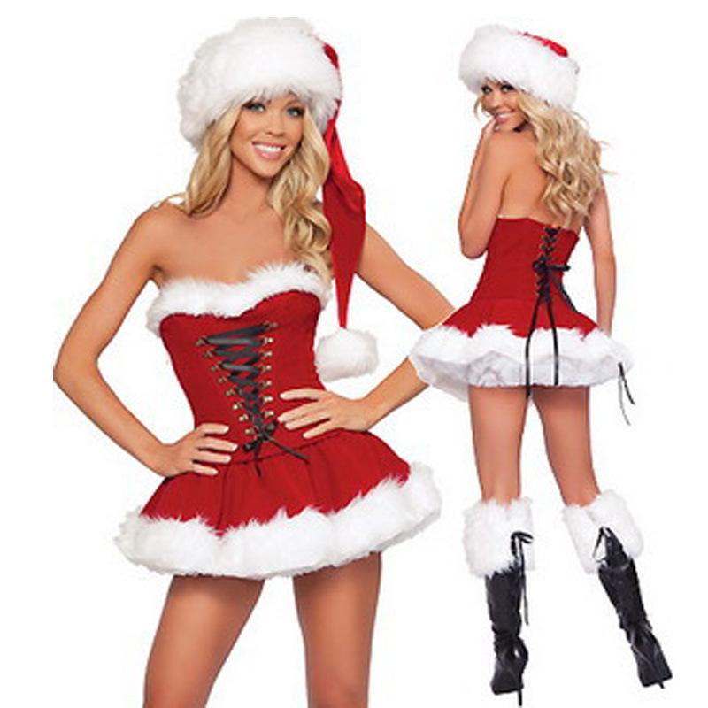Christmas girl santa hot