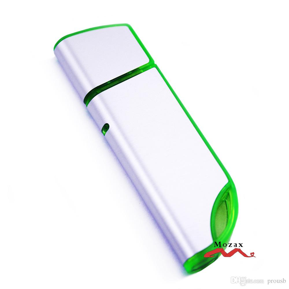 Free Engraving Logo 128MB/256MB/512MB/1GB/2GB/4GB/8GB/16GB Metal Stick USB Flash Drive 2.0 Genuine True Storage