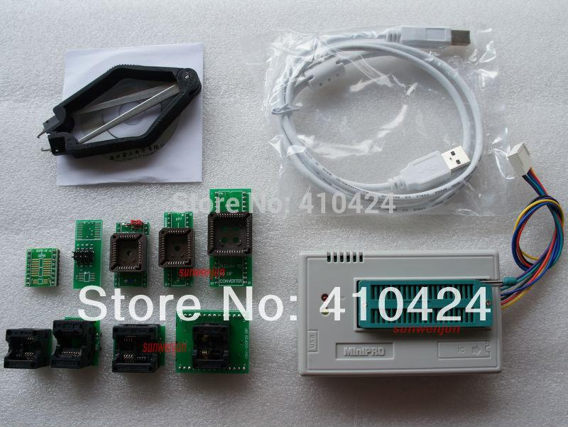 USB Programmer TL866A support12000+ AVR/PIC ICSP SPI in-circuit include  7adapter order<$18no track