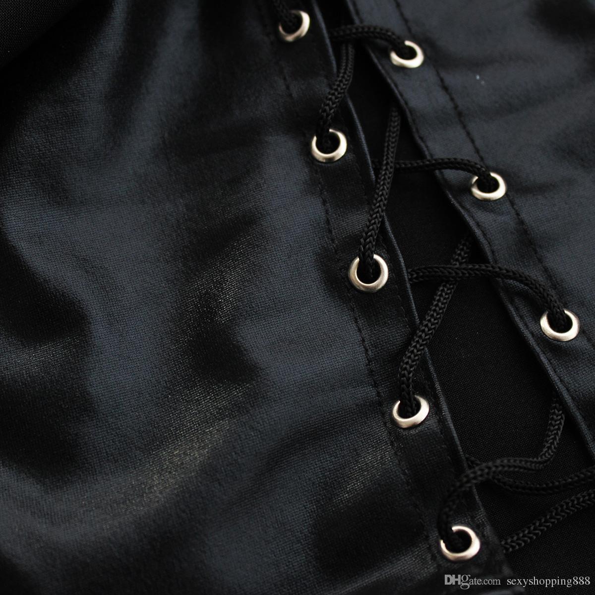 Nounours Sexy Lingerie Pour Femmes En Cuir Verni Jumpsuit Robe Latex Sexuelle Jeu Costumes Lady's Sex Sous-Vêtements Produits de Sexe D'adulte Sex Wear