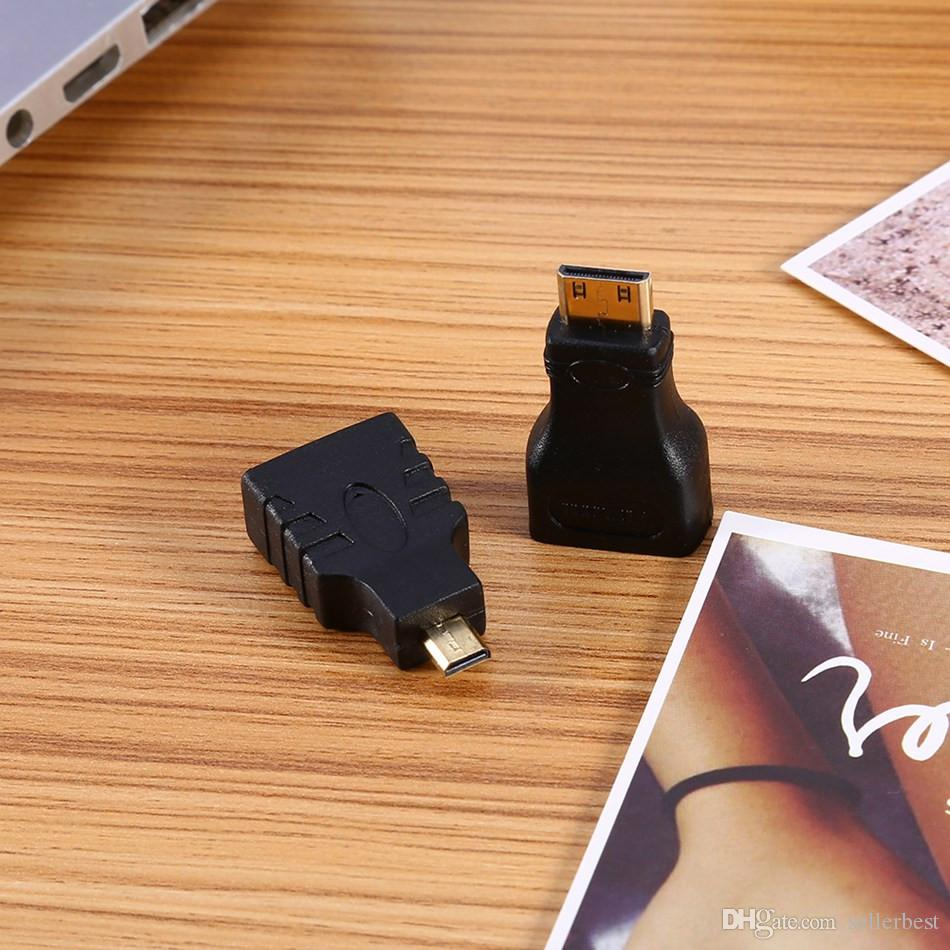 3 In 1 HDMI to HDMI/ Mini HDMI to Micro HDMI Cable Gold-plating Adapter Converter For Xbox360 PS3 HDTV