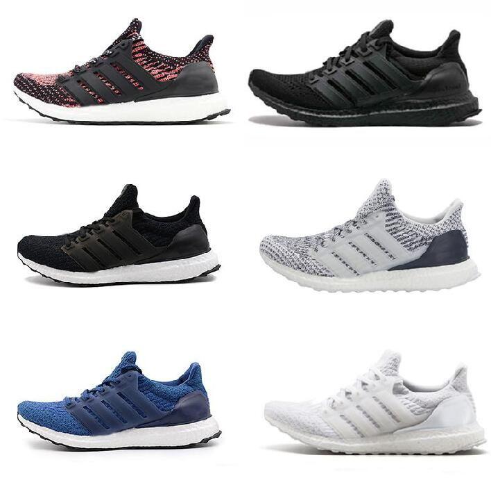 45acbc8edb1 Ultra Boost 3.0 Triple Black Running Shoes Men Women High Quality Ultra  Boost Hypebeast Primeknit Core Black White Athletic Size 36 45 Discount  Running ...