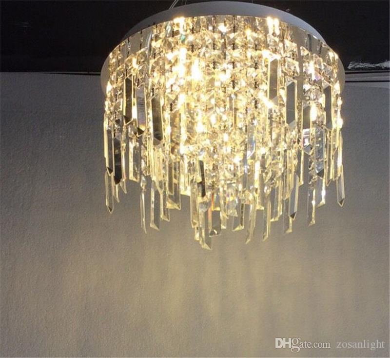 G4 Crystal LED Pendant Lamps Classical Modern LED Incandescent Pendant Lamps Fit for Living Room Glass Crystal Material sj-008A