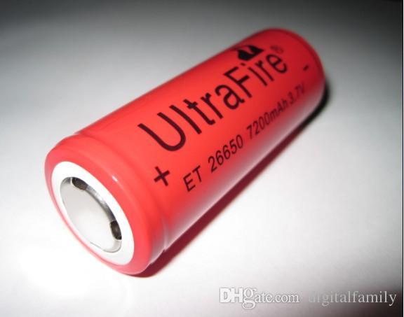 UltraFire 878 26650 줌 손전등 T6 L2 충전식 미니 야외 방수 장거리 라이딩