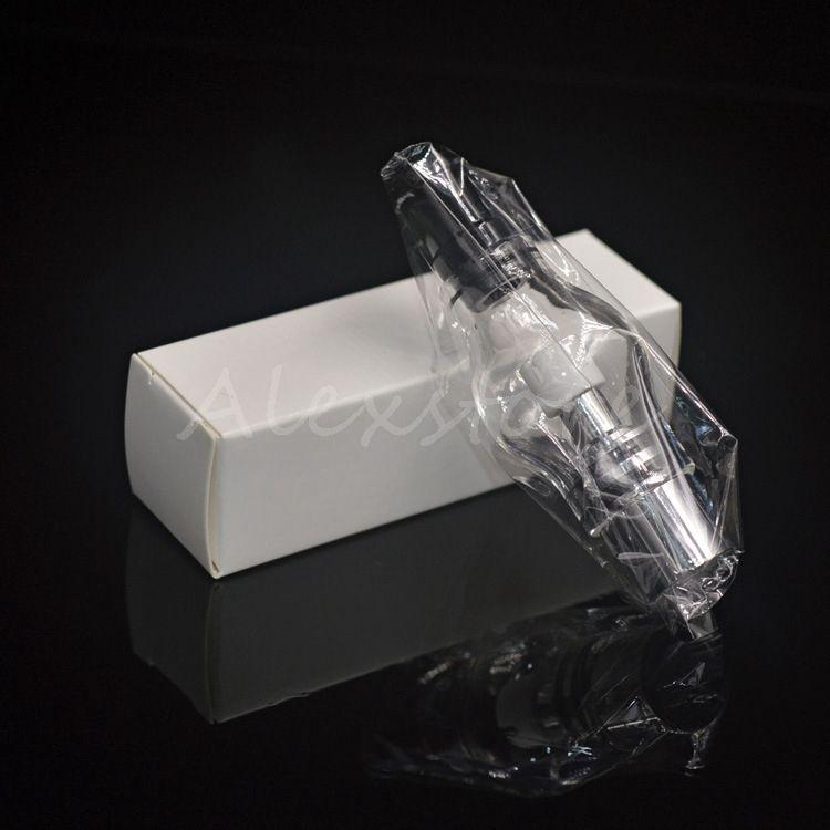 Glass globe atomizer pyrex glass tank Wax dry herb vaporizer pen vapor M6 glass atomizer ego glassomizer coils vape for ego t DHL